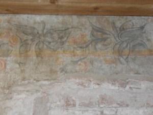 carta del restauro, decoro floreale
