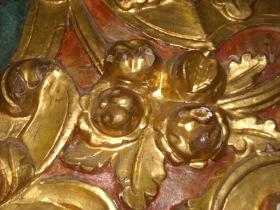 catalogazione delle opere, intaglio dorato