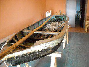 etnografico, barca a fondo piatto