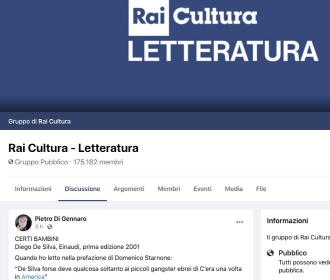 sito RAI cultura