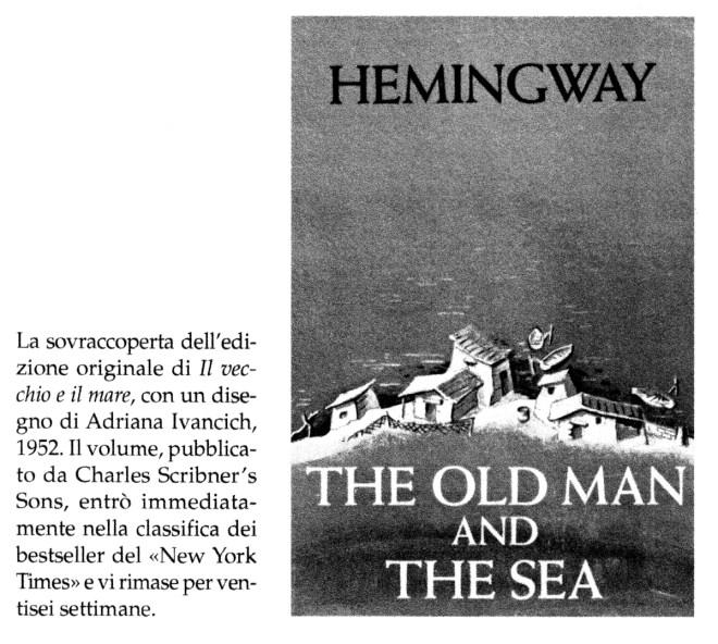 copertina originale il vecchio e il mare