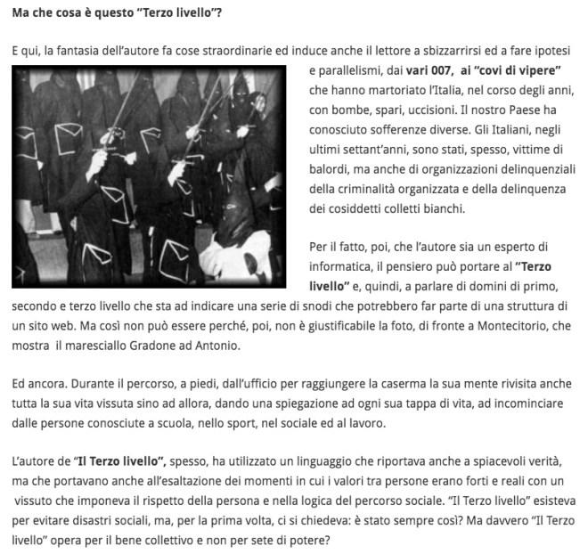 Articolo il SUD di Nicola Nigro
