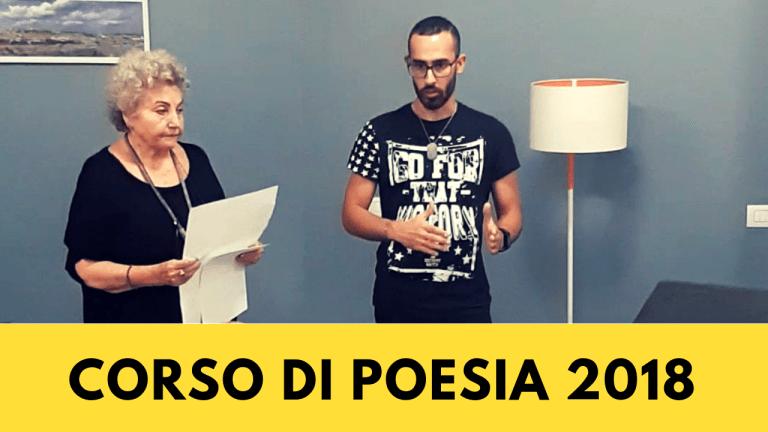 Presentazione del Corso di Poesia A.A. 2018/2019