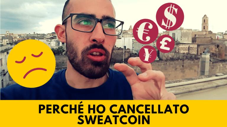 Perché ho cancellato Sweatcoin
