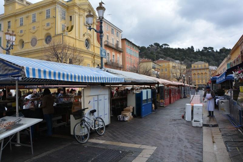 un giorno a nizza mercato cours saleya