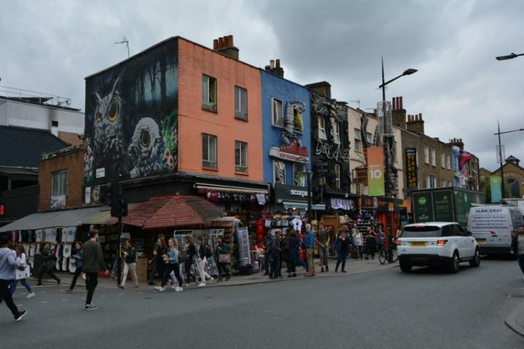 Cosa vedere a Londra in quattro giorni Camden town colori