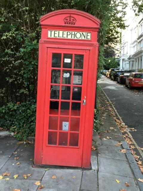 Cosa vedere a Londra in quattro giorni cabina telefonica