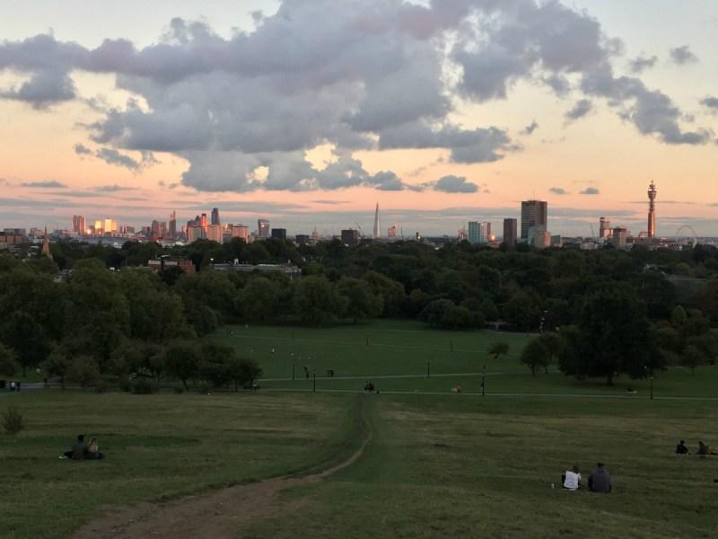 Cosa vedere a Londra in quattro giorni primrose hill tramonto