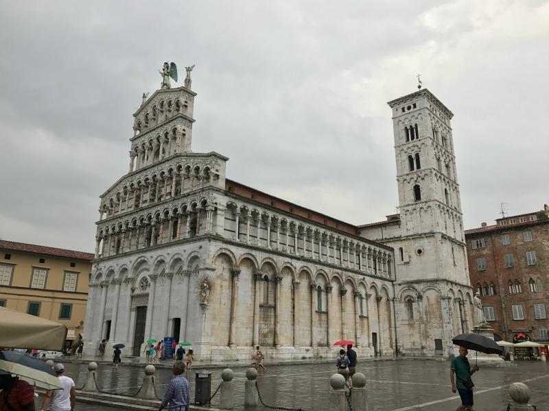 itinerario un giorno lucca chiesa san michele