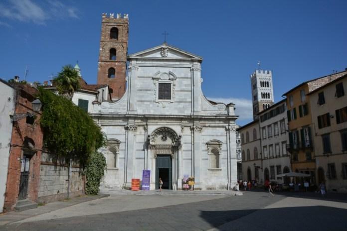 itinerario un giorno lucca chiesa santi giovanni reparata