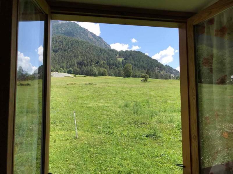 10 cose da fare in Val d'Ayas vista finestra natura