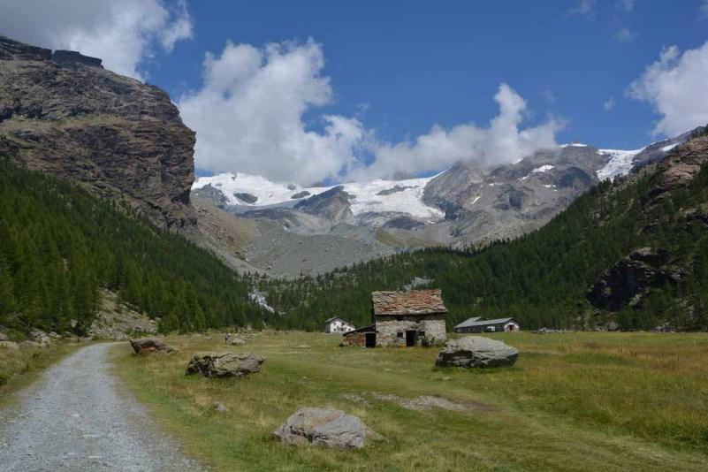 10 cose da fare in Val d'Ayas vista montagna