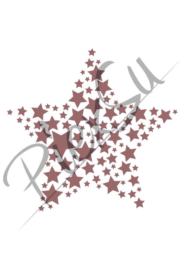 Plotterdatei Sterne