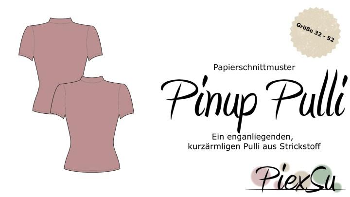 Papierschnittmuster PinUp Pulli inkl. eBook