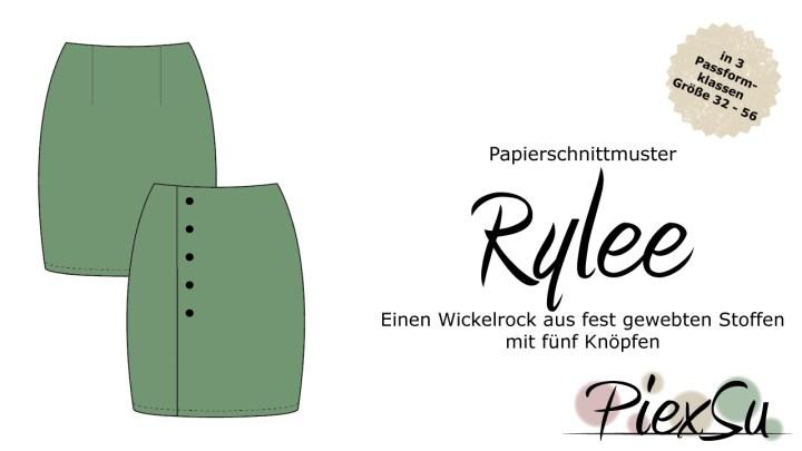 Papierschnittmuster Rock Rylee inkl. eBook
