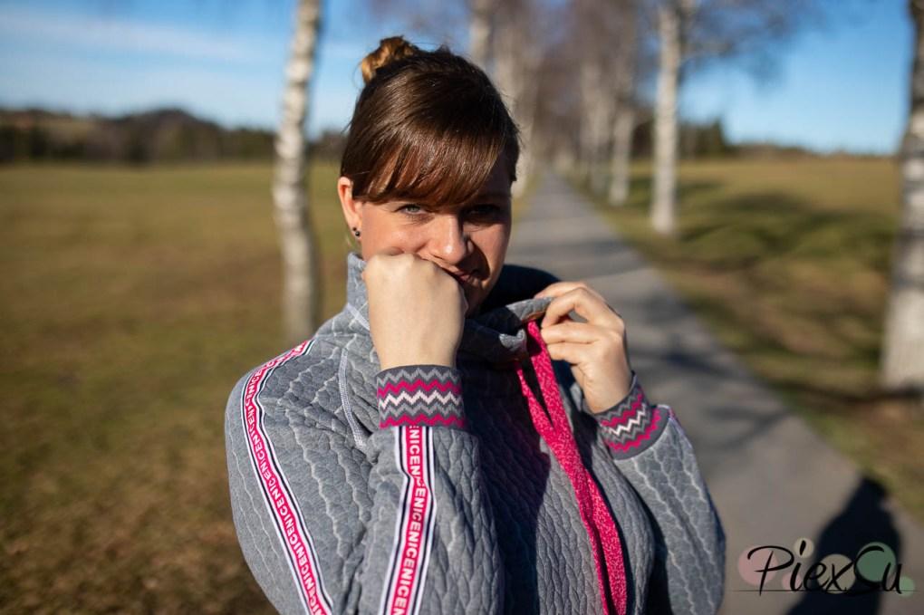 PiexSu Modest Pulli Pullover Raglanpulli Raglanärmel Schnittmuster nähen Sweatstoff Sweatshirt Nähanleitung -7620