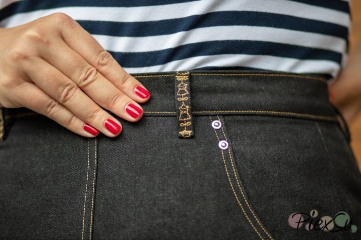 PiexSu Jeans nähen Jeanhose Kappnaht Hosentasche Nähanleitung -8819