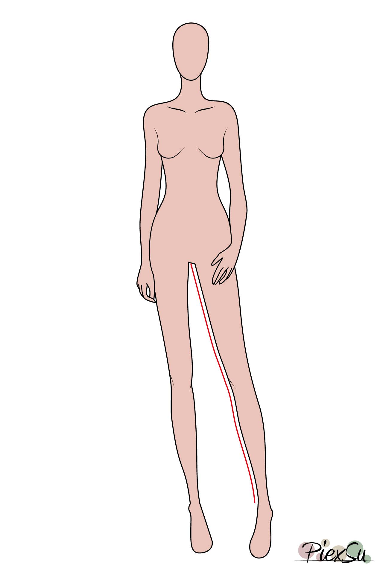 PiexSu-Maß-nehmen-messen-Schnittmuster-nähen-Nähanleitung-Innenbeinlänge