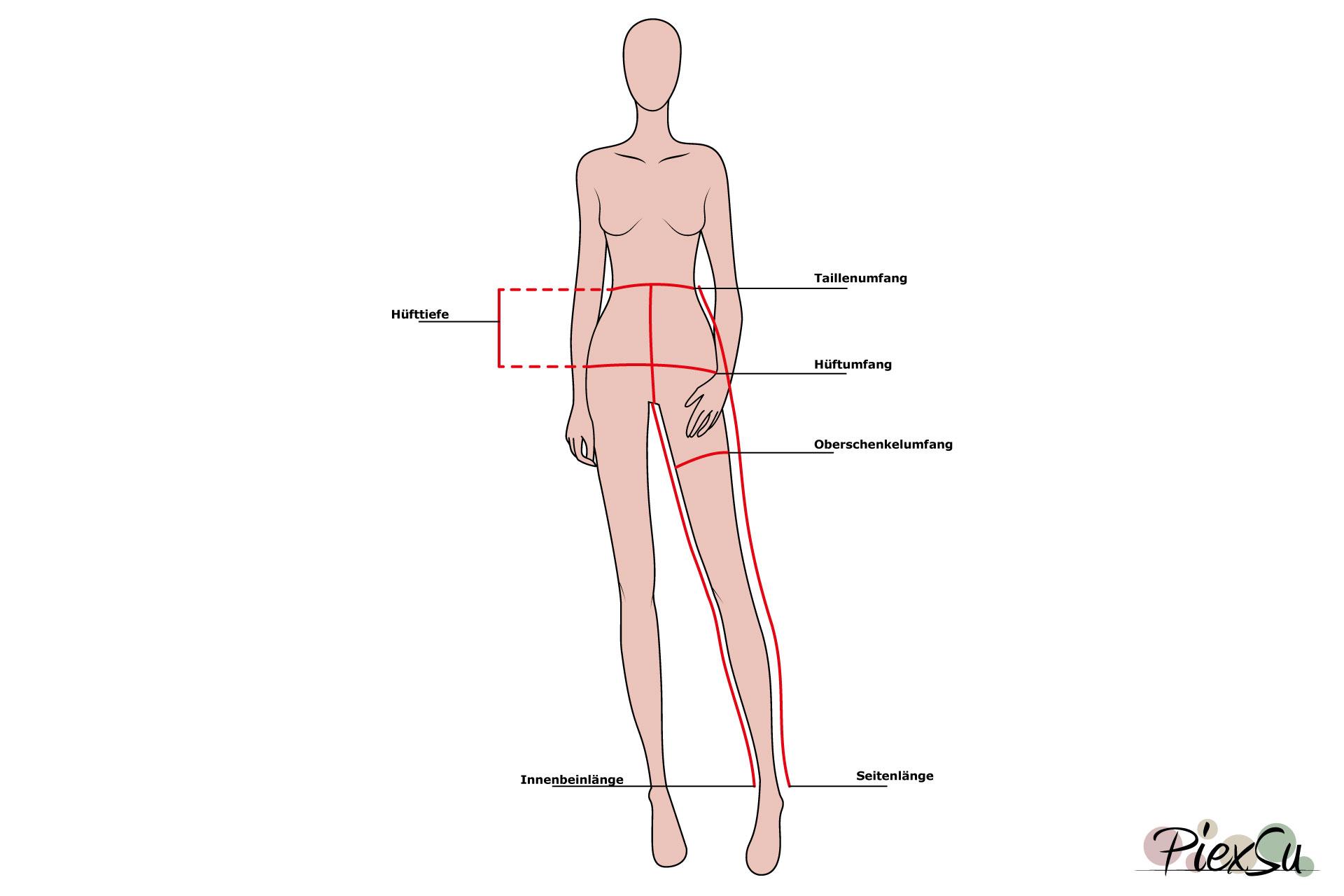 PiexSu-Maß-nehmen-messen-Schnittmuster-nähen-Nähanleitung-Maße-für-Hosen-quer-Titelbild
