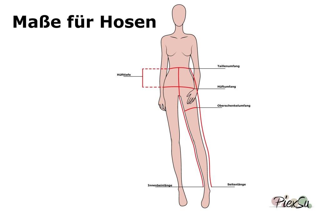 PiexSu-Maß-nehmen-messen-Schnittmuster-nähen-Nähanleitung-Maße-für-Hosen-quer