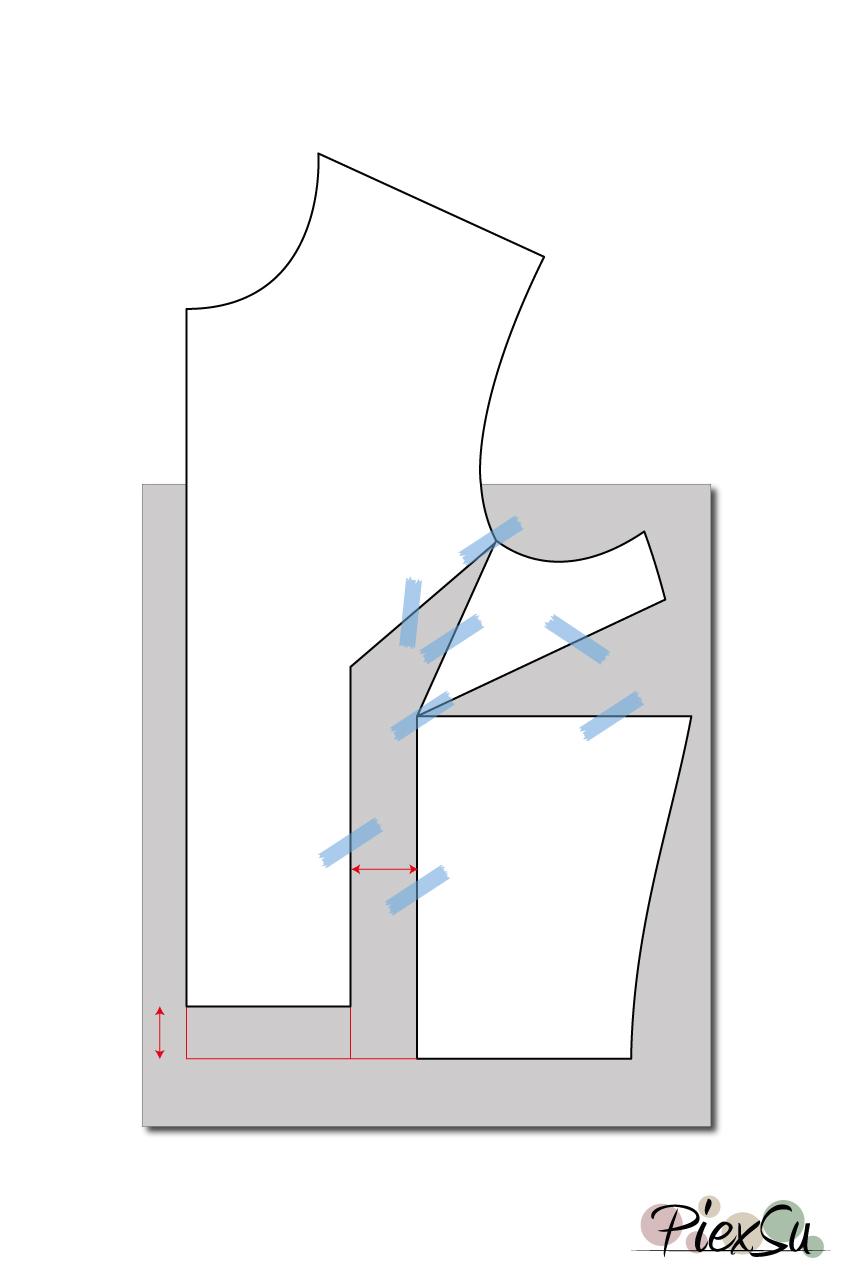 Schnittmuster-anpassen-große-Oberweite-FBA-Full-Bust-Adjustment-Schnittanpassung-PiexSu-(04)