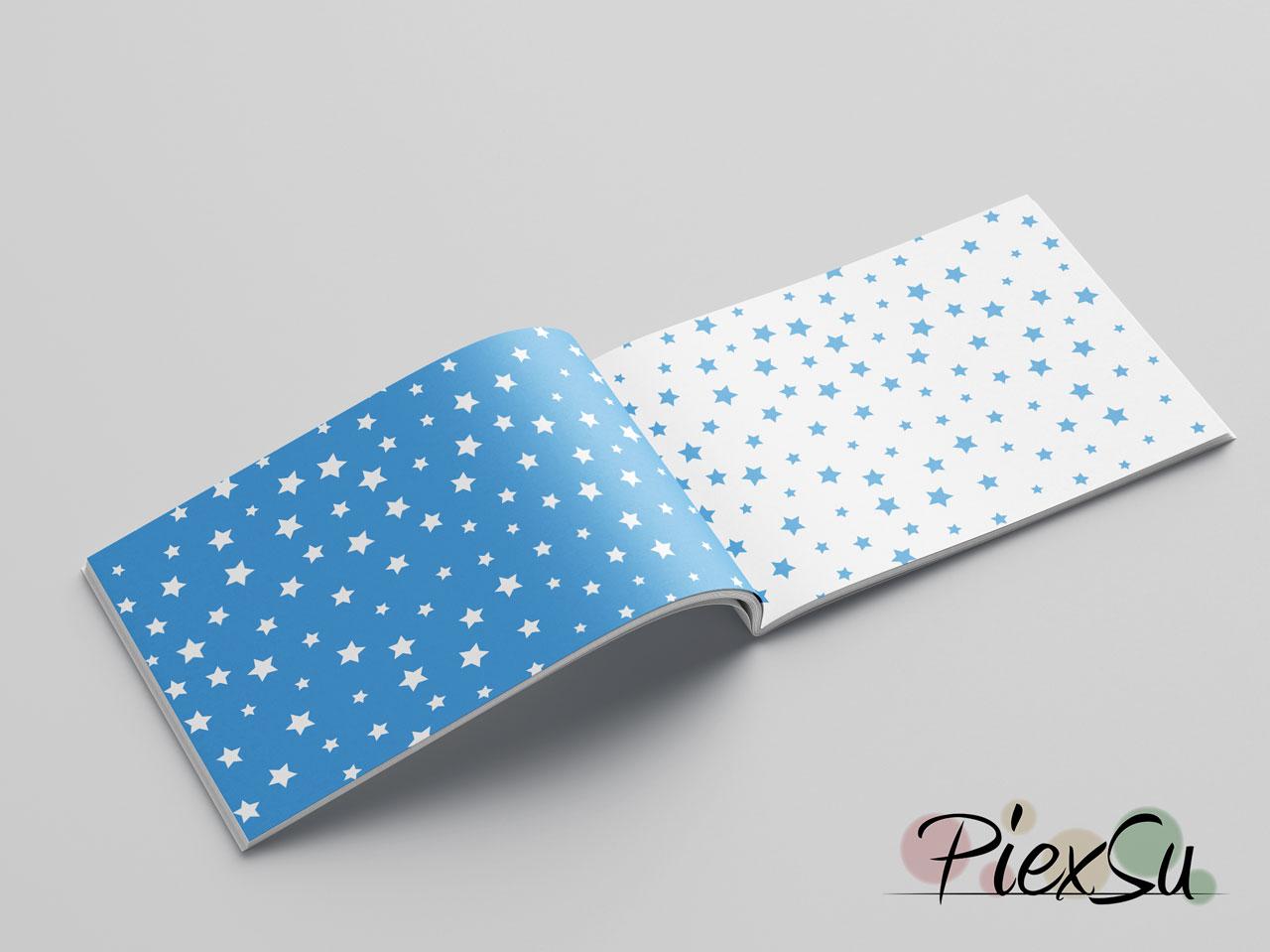 PiexSu-Digipapier-Sterne-Blau-digipaper-durcken-basteln