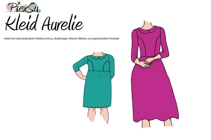 Titelbild-Aurelie-Kleid-Damen-Mädchen