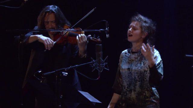 Géraldine Keller et Dominique Pifarély