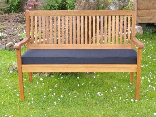 PnH® Black Garden Bench Cushion