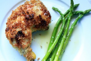 Crusty Mustard Chicken