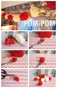 Decorating with Poms Poms at Christmas