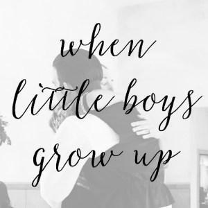 A Little Boy Grew Up