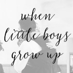 A Little Boy Grew Up