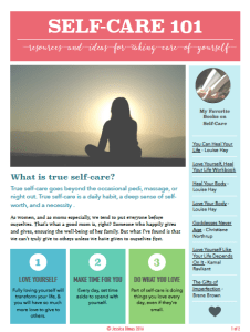Self-Care Resource List