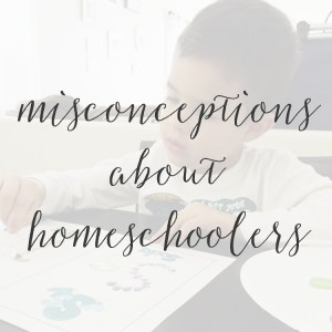 7 Misconceptions People Make About Me When I Tell Them I Homeschool