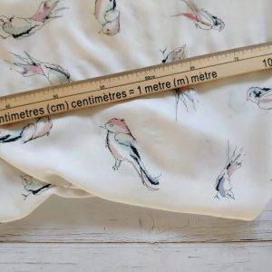 Cotton - Watercolour Birds