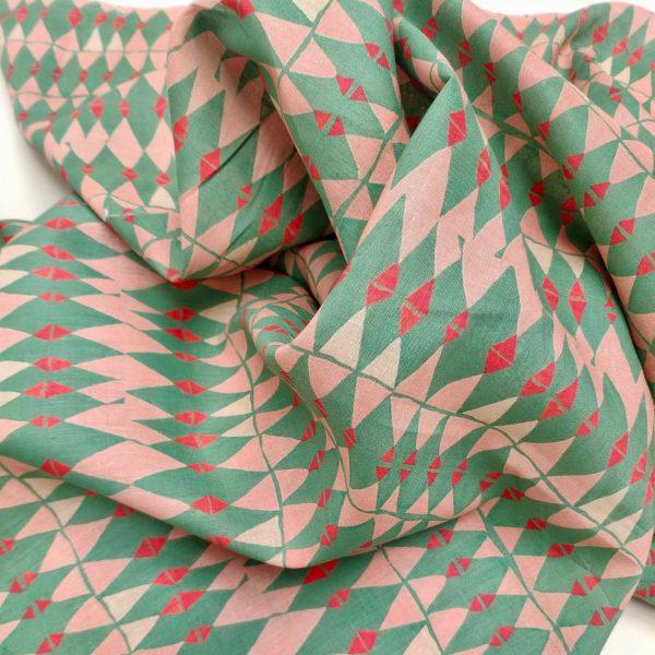 Morroco tile (linen unwashed)