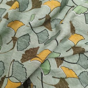 Ginkgo leaves Vintage green