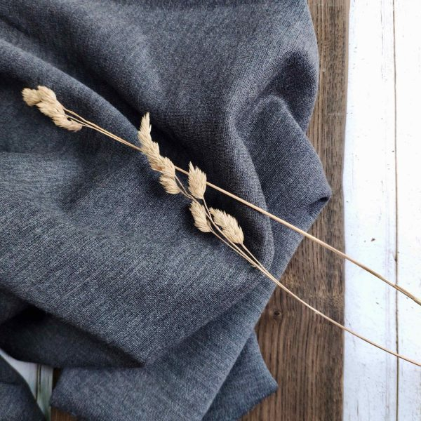 Fine imitation stretchy wool