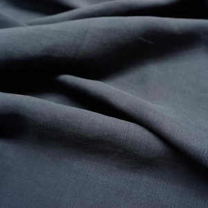 Sanded Lenzing Tencel Linen slub(21s) -1002 --12 Charcoal