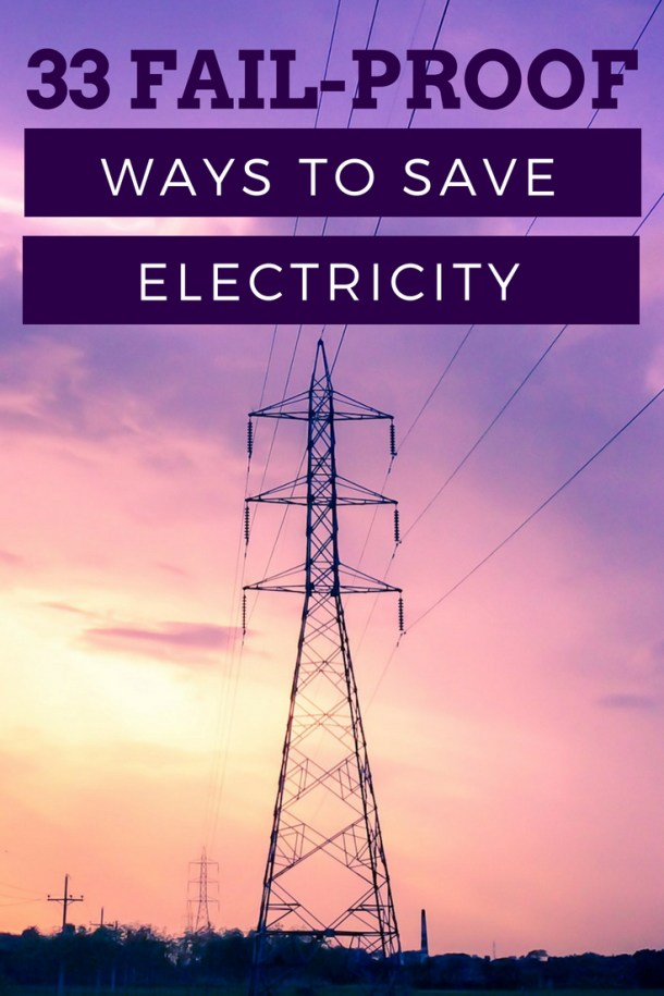 33 Fool-Proof Ways to Reduce Electricity Consumption at Home by Piggy Bank Principles