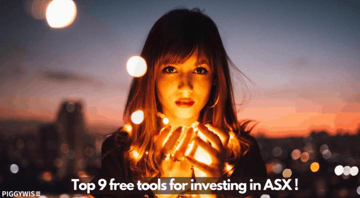 Top 9 free tools for ASX Investors