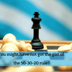 Why 50-30-20 rule is not good to get desired results