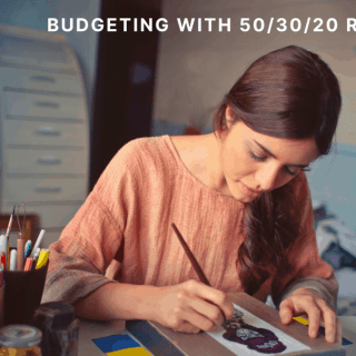 budgeting with 50-30-20 rule