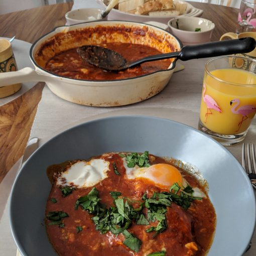 Red Shakshuka Honey & Co The Baking Book Sarit Packer Itamar Srulovich