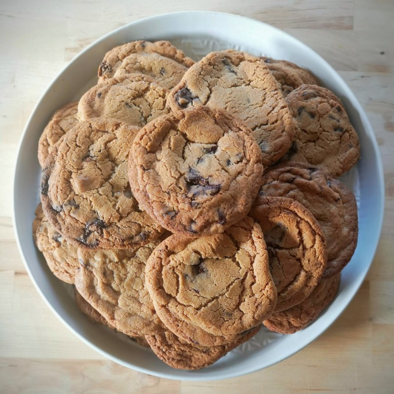 Claire Ptak Egg Yolk Chocolate Chip Cookies The Violet Bakery Cookbook