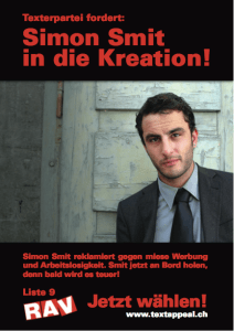 Simon Smit in die Kreation