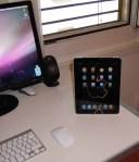 iPad Halterung hochformat