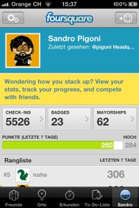 @Pigoni bei foursquare