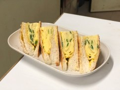 Scrambled Egg & Scallions Sandwich | HKD25